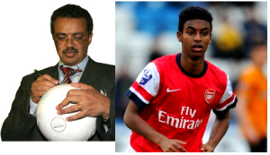 Dr Tedros and Zelalem